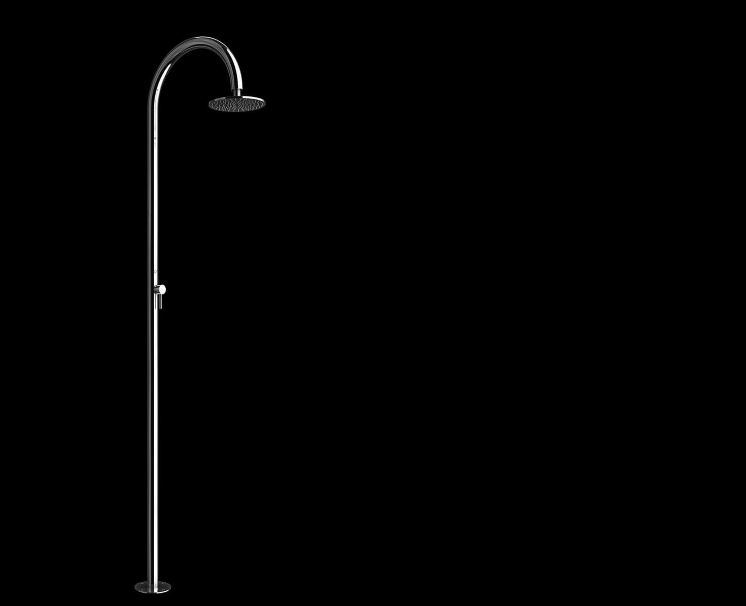 Imagínese la ducha al aire libre, piscina, jardín - Sole 48 Inoxstyle
