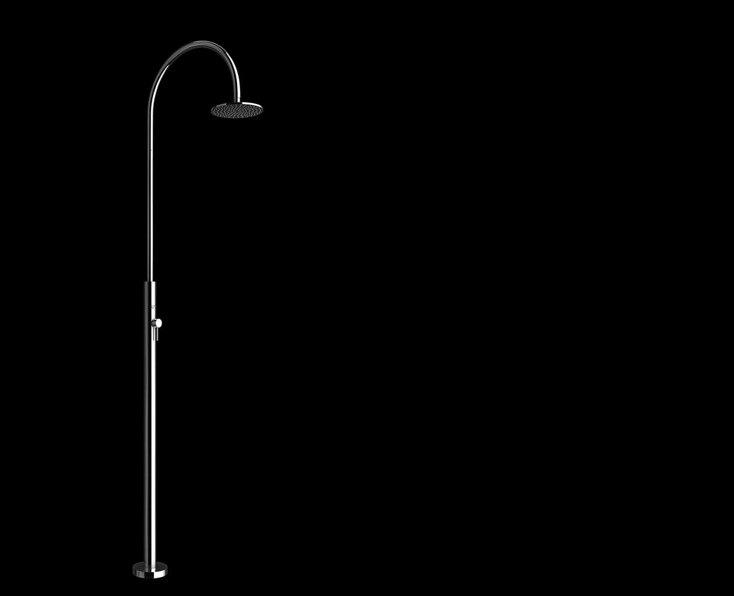 Immagine doccia per esterno, per piscina, per giardino - Aria Cylinder Inoxstyle