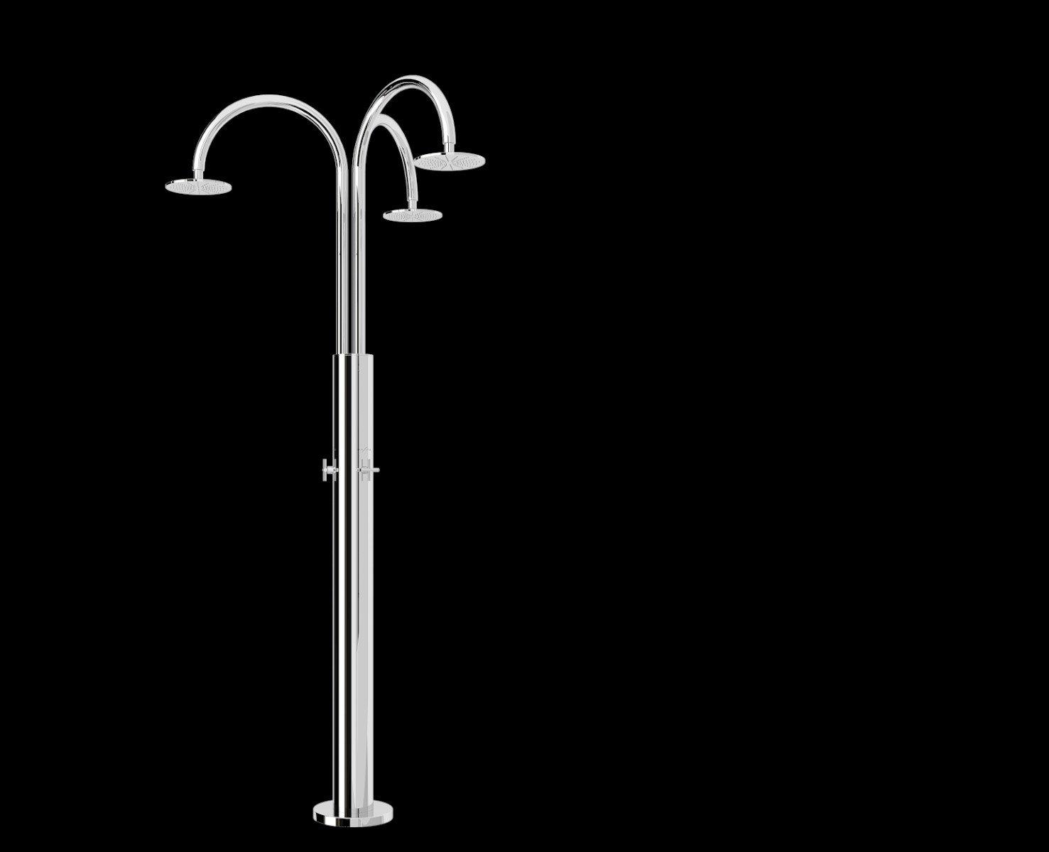 Immagine doccia per esterno, per piscina, per giardino - Melody Inoxstyle